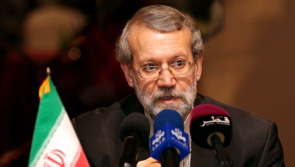 Председатель Собрания исламского совета Ирана Али Лариджани, фото из архива - Sputnik Азербайджан