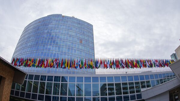 Штаб-квартира Всемирной организации интеллектуальной собственности - Sputnik Азербайджан