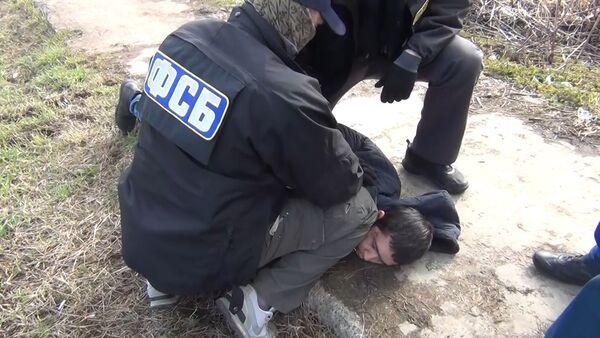 Задержание организатора теракта в метро Санкт-Петербурга - Sputnik Азербайджан