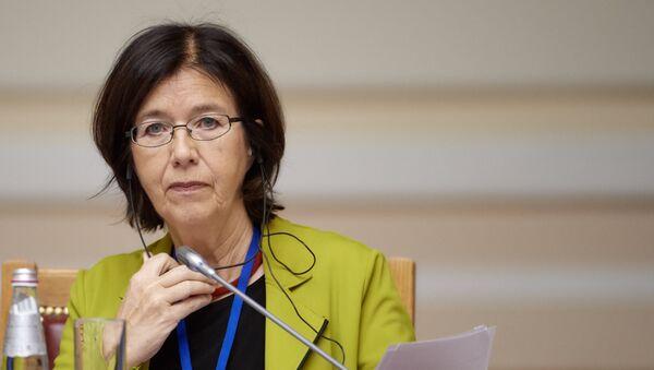 Председатель Парламентской ассамблеи Организации по безопасности и сотрудничеству в Европе Кристин Муттонен, фото из архива - Sputnik Азербайджан