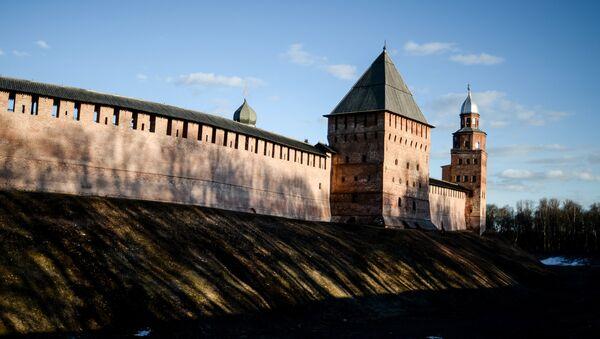 Новгородский кремль - Sputnik Азербайджан