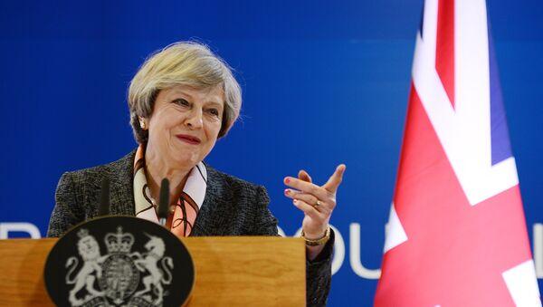 Премьер-министр Великобритании Тереза Мэй, фото из архива - Sputnik Азербайджан