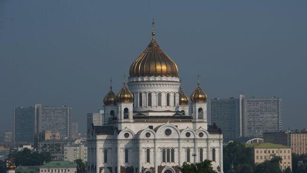 Храм Христа Спасителя в Москве - Sputnik Азербайджан