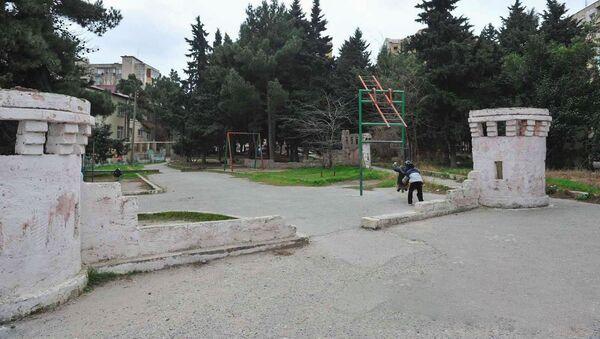 Парк шехидов в Хатаинском районе Баку, фото из архива - Sputnik Азербайджан