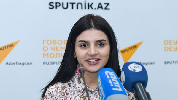 Парвана Алджанова - Sputnik Азербайджан