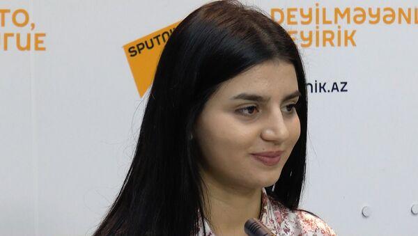 Парвана Алджанова: это только начало пути - Sputnik Азербайджан