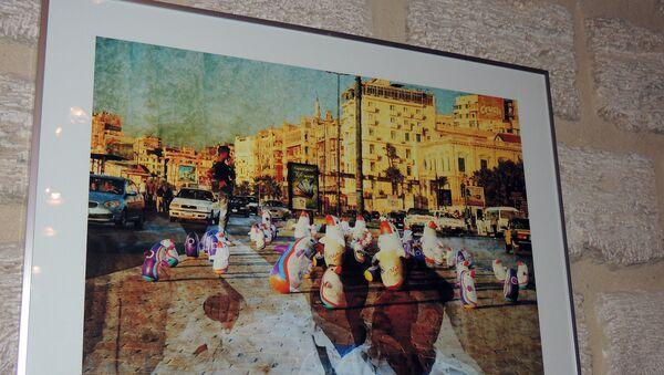 Выставка литвийского художника Гиедриуса Йокубаускиса в Баку - Sputnik Азербайджан