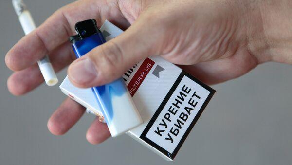 Пачка сигарет, фото из архива - Sputnik Азербайджан
