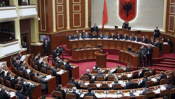 Albaniya parlament məclisi,arxiv şəkli - Sputnik Azərbaycan