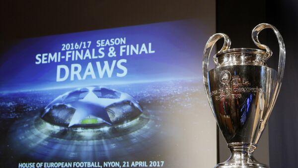 UEFA Çempionlar liqasında yarımfinalın püşkü atılıb - Sputnik Azərbaycan