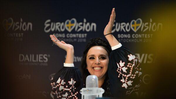 Джамала (Украина), победившая в финале международного конкурса Евровидение-2016 - Sputnik Азербайджан