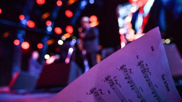На международном джазовом фестивале, фото из архива - Sputnik Азербайджан