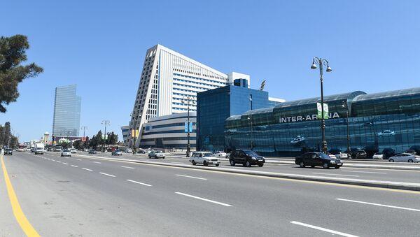 Проспект Гейдара Алиева в Баку - Sputnik Азербайджан