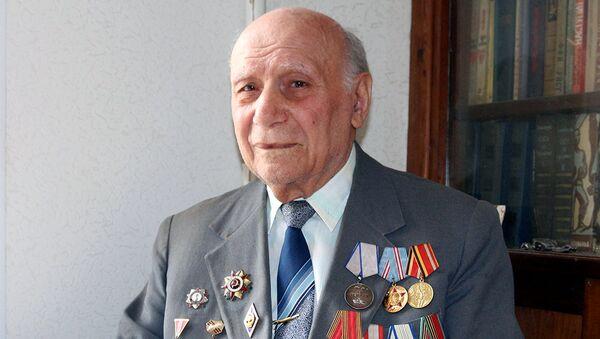 İkinci Dünya Müharibəsi iştirakçısı Nazim Ramazanov - Sputnik Azərbaycan