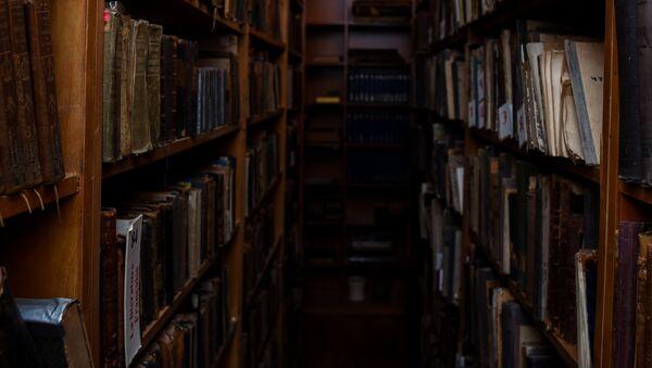 Библиотека, фото из архива - Sputnik Азербайджан