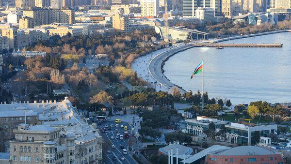 Вид на Бакинскую бухту - Sputnik Азербайджан