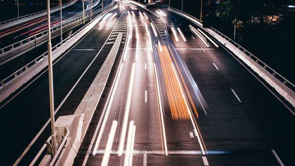 Скоростная трасса, фото из архива - Sputnik Азербайджан