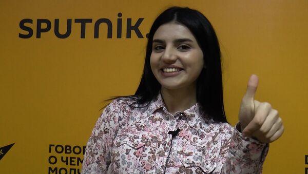 Видеообращение Парваны к участнице шоу Ты супер! Хошгедем Мехтиевой - Sputnik Азербайджан