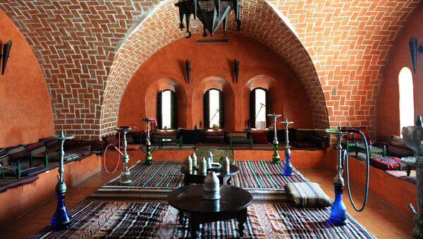 Кальянная в отеле, фото из архива - Sputnik Азербайджан