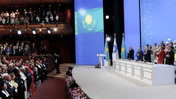 Qazaxıstan Xalqı Assambleyasının XXV sessiyası - Sputnik Azərbaycan