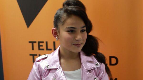 Участница Ты супер! продолжит петь в Азербайджане - Sputnik Азербайджан