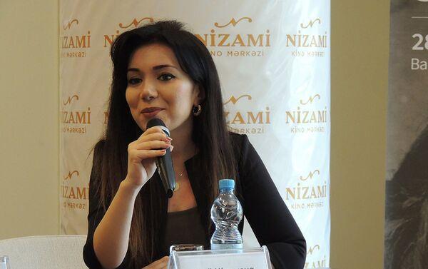 Директор киноцентра Низами Лейли Мирзаева - Sputnik Азербайджан