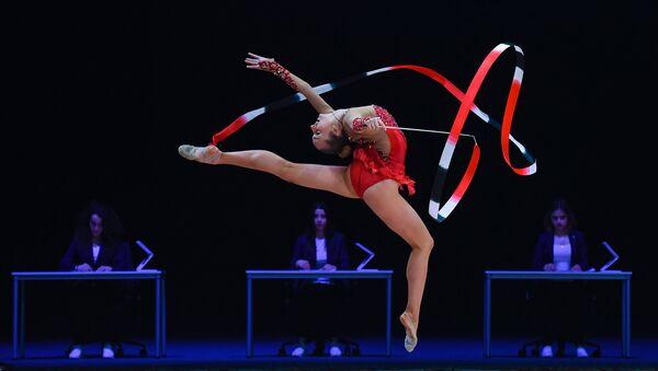 Открытие Кубка мира по художественной гимнастике в Баку - Sputnik Azərbaycan