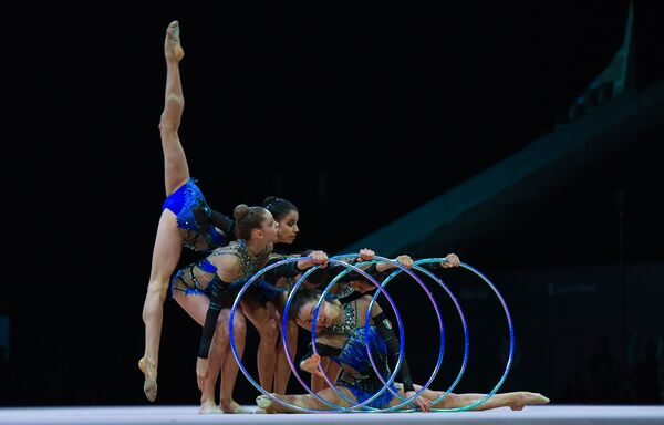 Открытие Кубка мира по художественной гимнастике в Баку - Sputnik Азербайджан