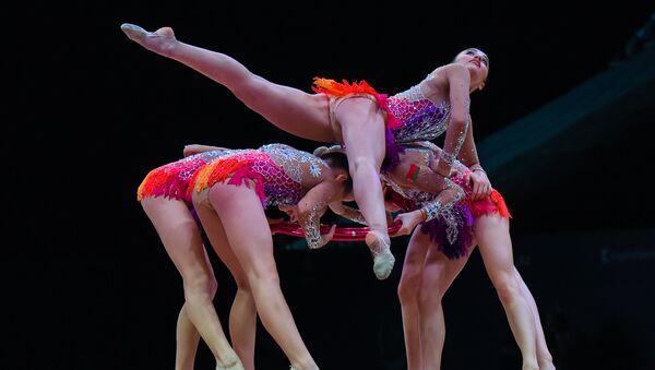 Открытие Кубка мира по художественной гимнастике в Баку, фото из архива - Sputnik Азербайджан
