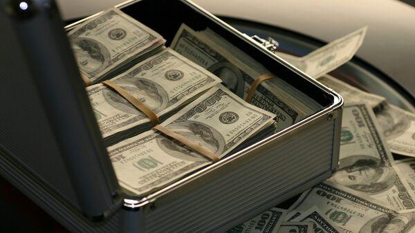 ABŞ dollarları, arxiv şəkli - Sputnik Azərbaycan
