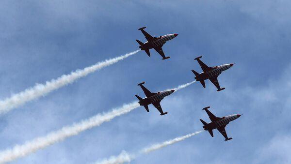 Самолеты ВВС Турции, фото из архива - Sputnik Азербайджан
