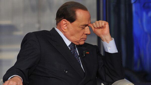 Бывший премьер-министр Италии Сильвио Берлускони, фото из архива - Sputnik Азербайджан