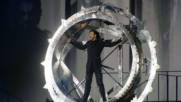 Певец Филипп Киркоров выступает с шоу-программой ДруGoy в Государственном Кремлевском Дворце - Sputnik Азербайджан