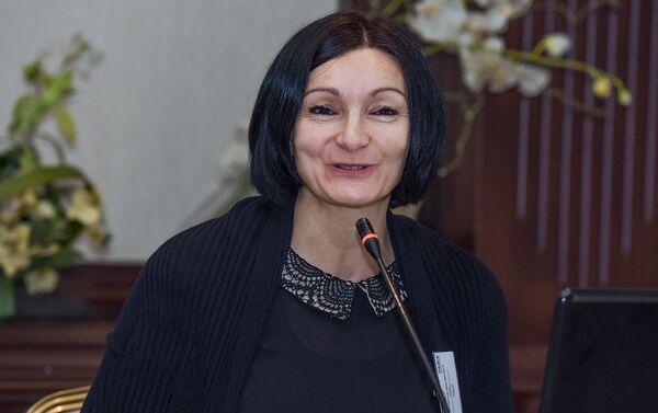 Доктор социальных наук Вроцлавского университета Польши Марзена Кордачук - Sputnik Азербайджан