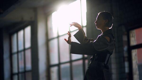 Репетиция представительницы Азербайджана Дианы Гаджиевой на международном песенном конкурсе Евровидение-2017 - Sputnik Азербайджан