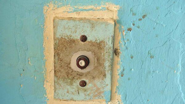 Кнопка вызова лифта, фото из архива - Sputnik Азербайджан