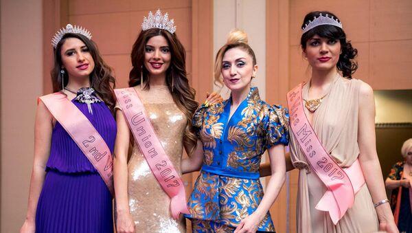 Участницы конкурса красоты Miss Union-2017 - Sputnik Азербайджан