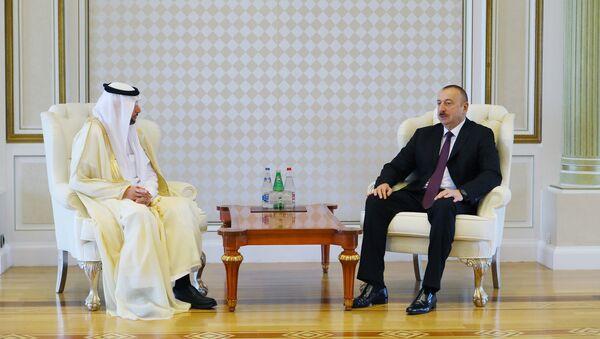 Ильхам Алиев принял делегацию во главе с генеральным секретарем Организации исламского сотрудничества (ОИС) Юсифом Аль-Осайми - Sputnik Азербайджан
