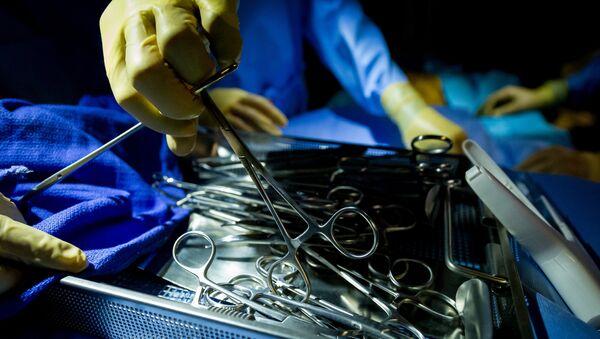 Медицинские инструменты, фото из архива - Sputnik Азербайджан