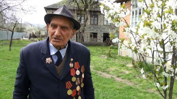 Niyaz babaya İkinci Dünya Müharibəsindən geriyə xatirələr qalıb - Sputnik Azərbaycan