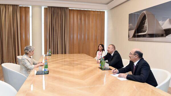 Состоялась встреча Ильхама Алиева с генеральным директором ЮНЕСКО - Sputnik Азербайджан