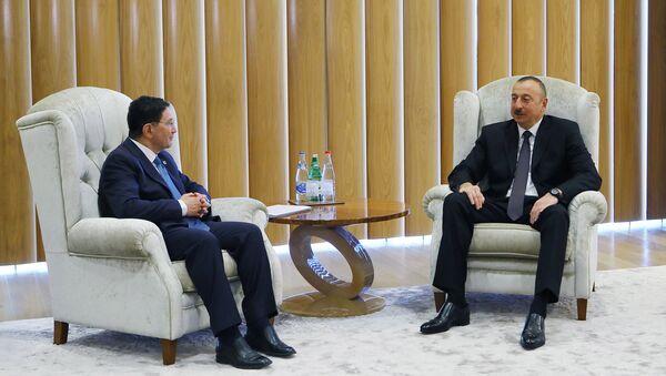 Ильхам Алиев встретился с генеральным секретарем Всемирной туристской организации - Sputnik Азербайджан