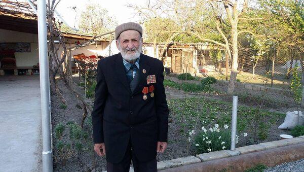 Ветеран Великой отечественной войны Ахмедов Мамед Сейфат оглу - Sputnik Азербайджан