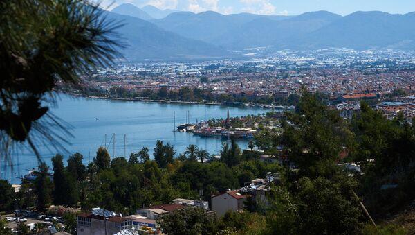 Город-курорт Фетхие на юго-западе Турции в провинции Мугла, фото из архива - Sputnik Азербайджан