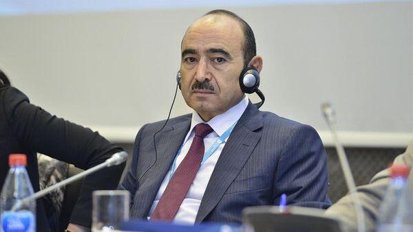 Помощник по общественно-политическим вопросам Президента Азербайджана Али Гасанов, фото из архива - Sputnik Азербайджан