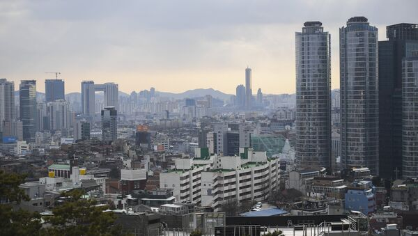 Cənubi Koreyanın paytaxtı Seul, arxiv şəkli - Sputnik Азербайджан