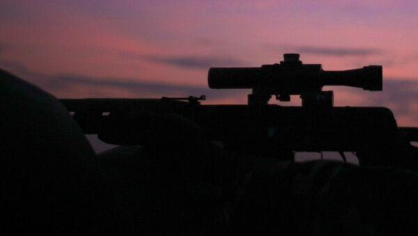 Снайперская винтовка, фото из архива - Sputnik Азербайджан