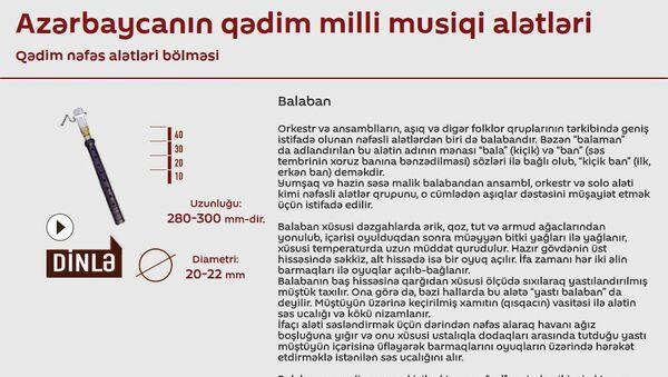 Azərbaycanın qədim milli musiqi alətləri - Sputnik Azərbaycan