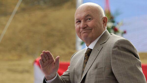 Бывший мэр Москвы Юрий Лужков, архивное фото - Sputnik Азербайджан