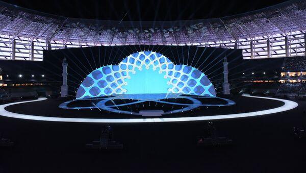 IV İslam Həmrəyliyi Oyunlarının rəsmi açılış mərasimi - Sputnik Azərbaycan